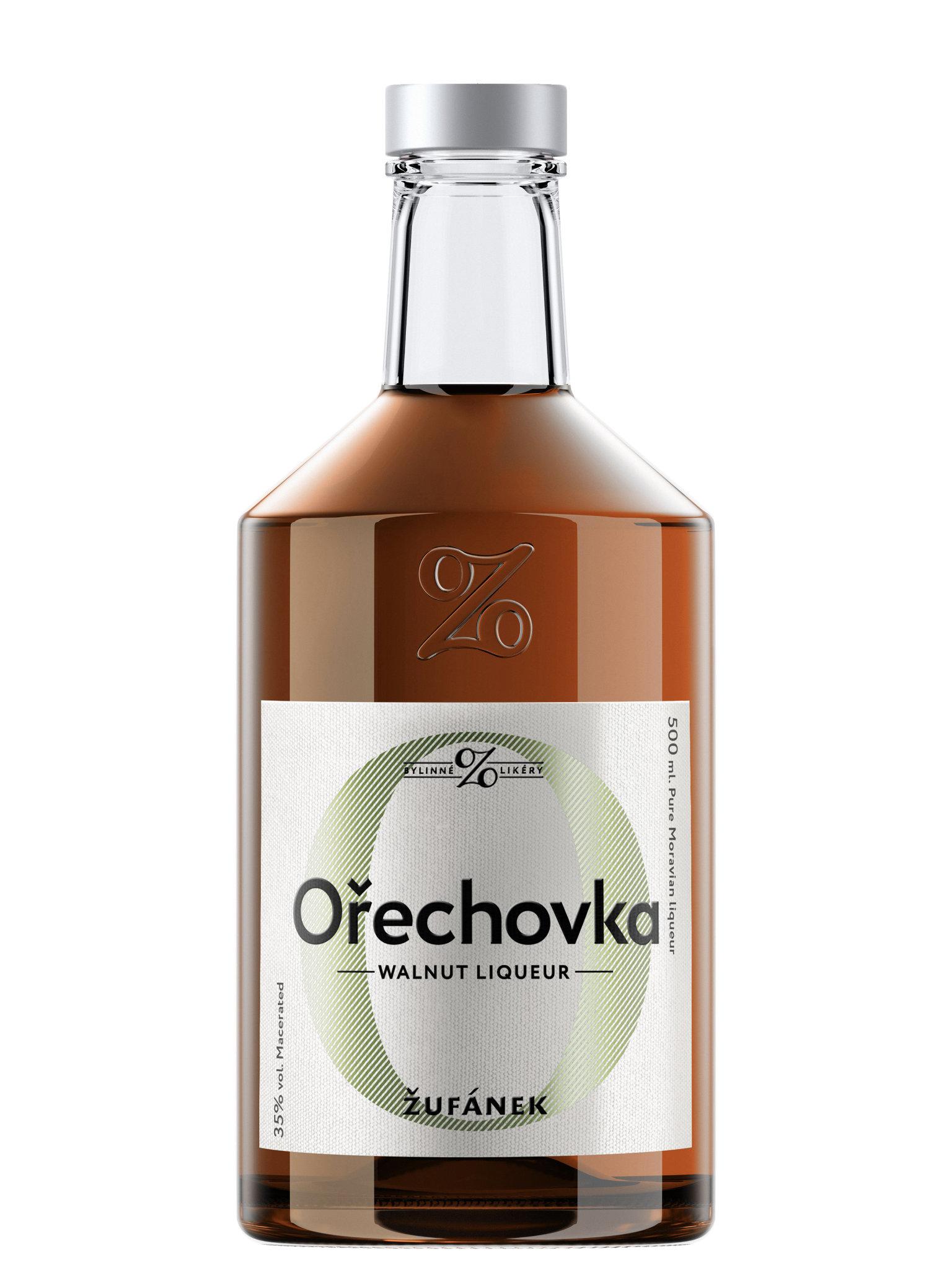 Levně Ořechovka Žufánek 35% 0,5l