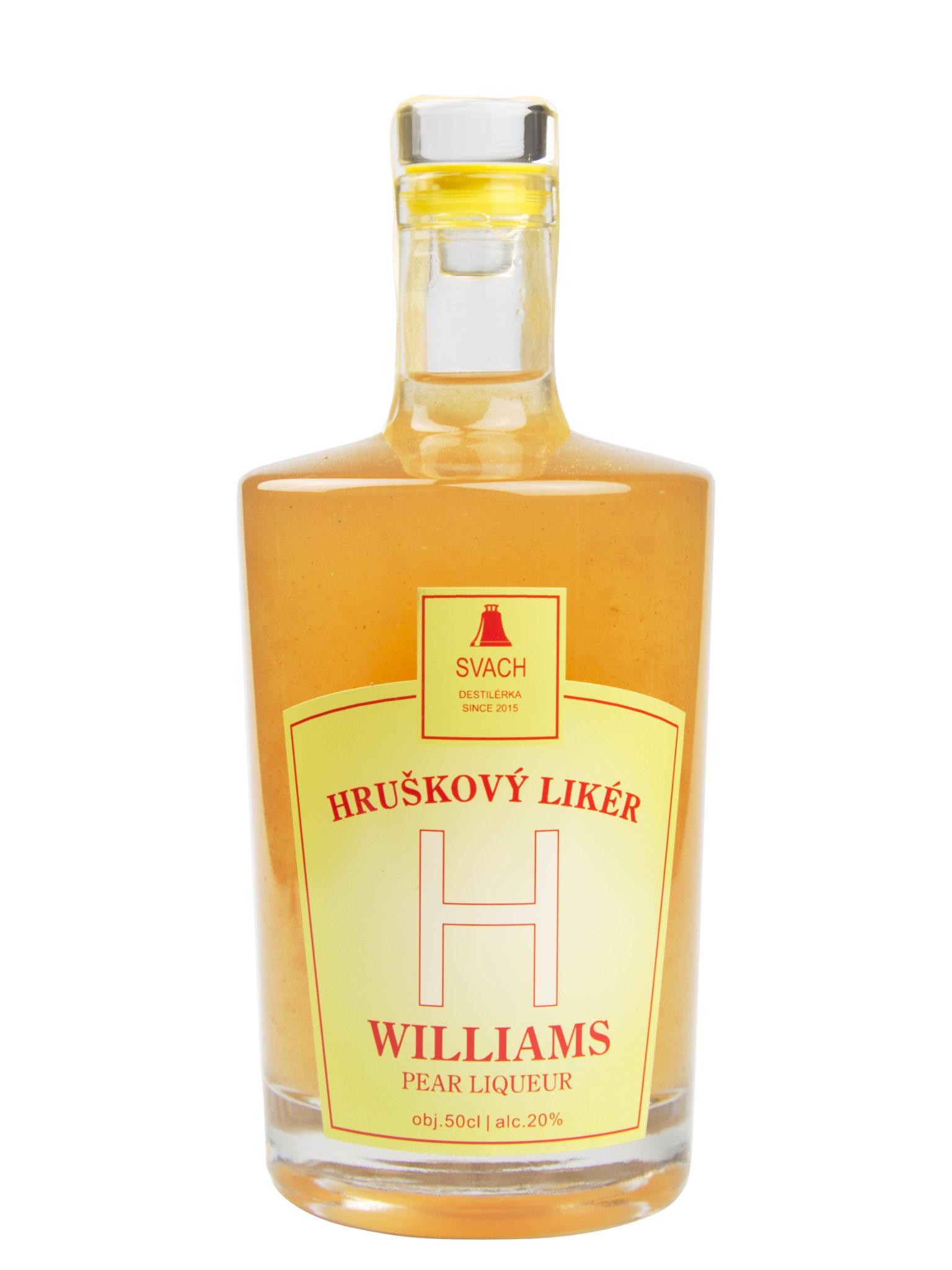 Levně Destilérka Svach (Svachovka) Hruškový likér Svach 20% 0,5l