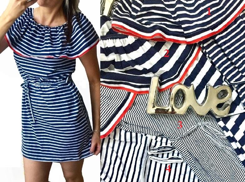 A-Námořnické šaty