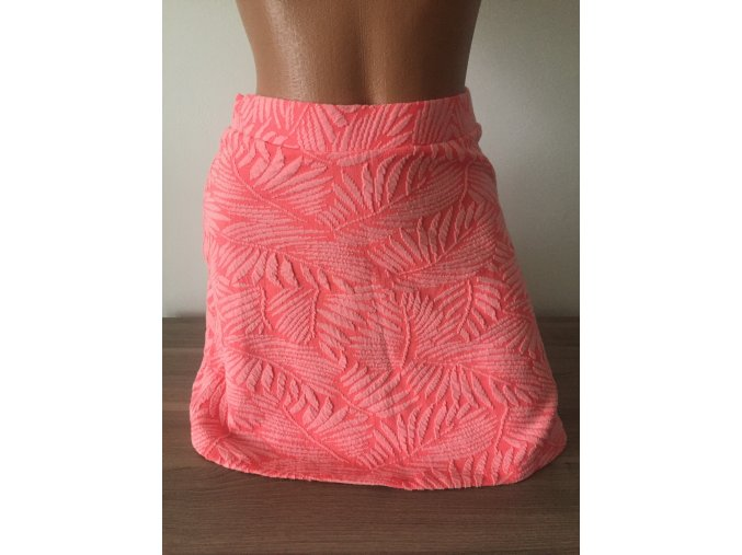 Barevná vzorovaná sukně Bershka
