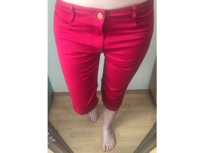 Malinové 3/4 kalhoty