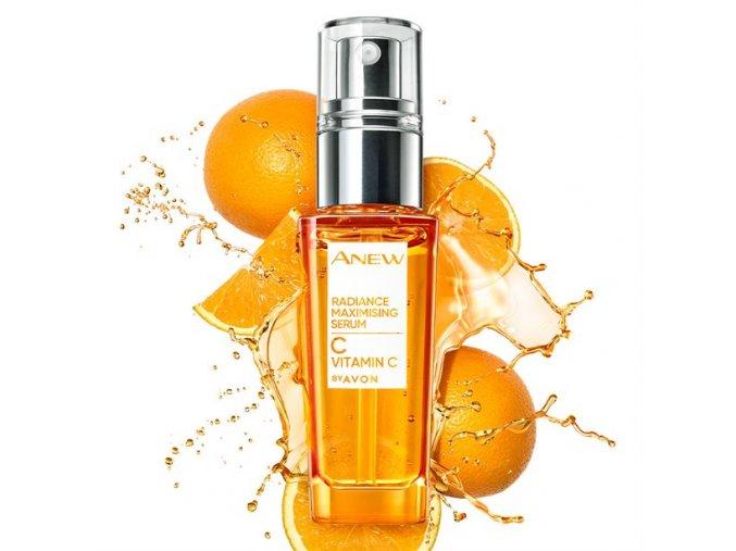 Avon Anew Rozjasňující sérum s vitaminem C 30 ml