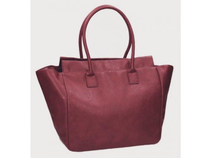 Avon Tmavě červená dámská kabelka Cydney
