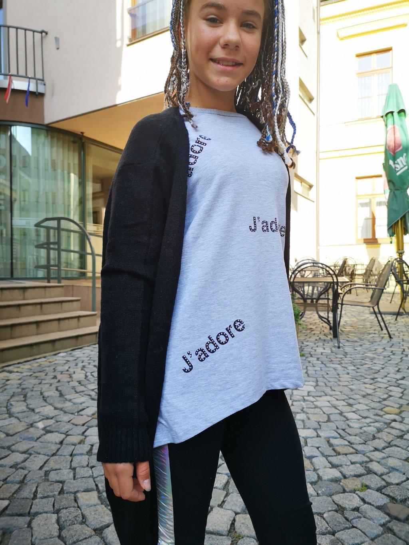 Dívčí tunika 090, velikost 164, obr. 20