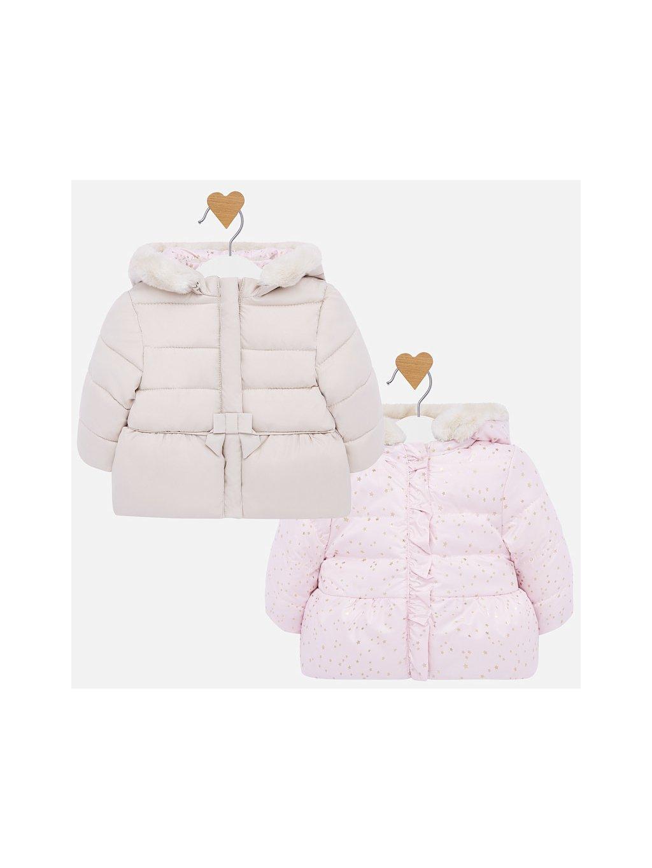 Dívčí zimní, oboustranná bunda Mayoral 2410, velikost 4 - 6 měsíců, 70 cm, obr. 20