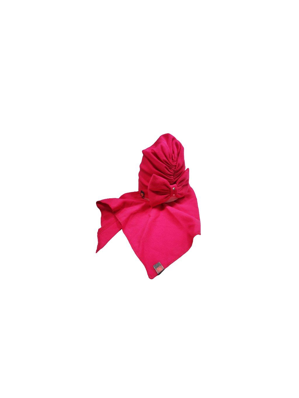 Dívčí čepice s šátkem 022, obr. 20