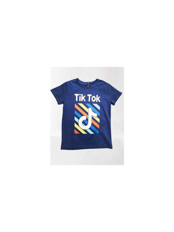 Triko Tik Tok 099, velikost 152, barva modrá, obr. 20