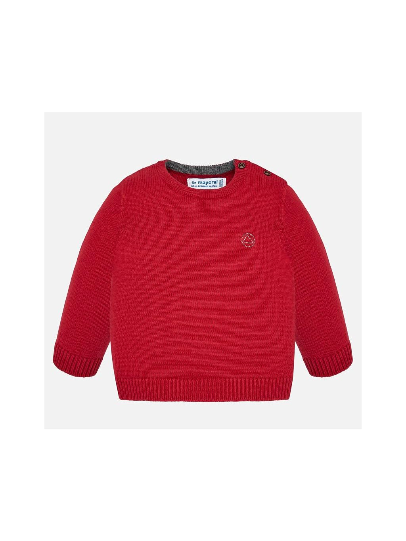 CHLAPECKÝ VLNĚNÝ SVETR MAYORAL 351, velikost 98, barva červená, obr. 20