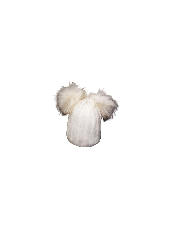 Zimní čepice 118, barva béžová, obr. 20