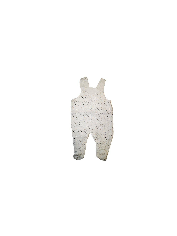 Kojenecké dupačky 066, velikost 68, barva béžová, bílá, obr. 20