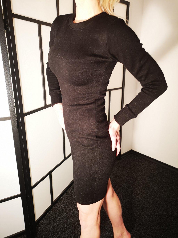 Dámské šaty 082, barva černá, obr. 20