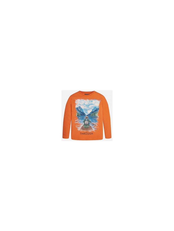 CHLAPECKÉ TRIKO MAYORAL 7005-11, velikost 166 (16 let), barva oranžová, obr. 20