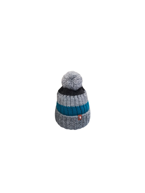 Zimní čepice 146, barva šedá, modrá, obr. 20