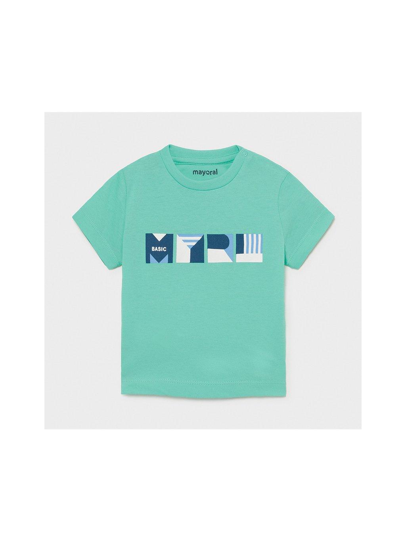 CHLAPECKÉ TRIČKO MAYORAL 106-71, velikost 98, barva zelená, modrá, 8445054596277, obr. 20