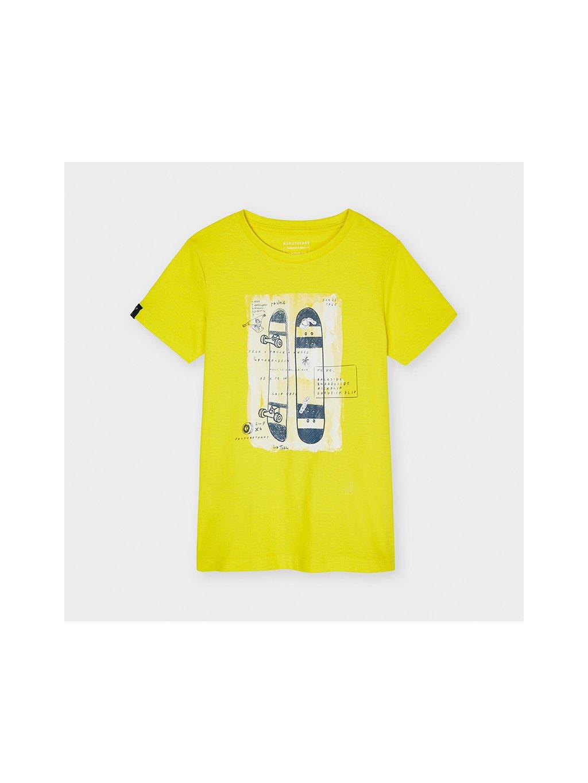 CHLAPECKÉ TRIČKO MAYORAL 6089-25, velikost 172 (18 let), barva žlutá, 8445054571236, obr. 20