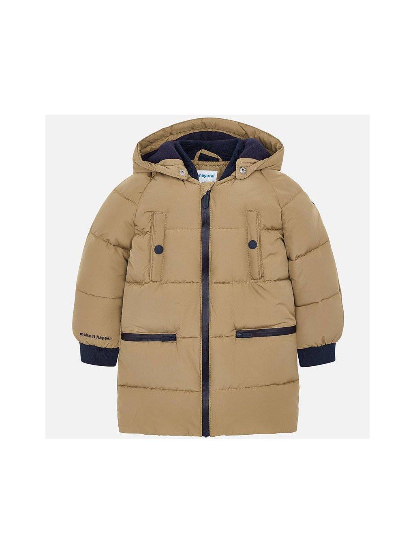 Chlapecká zimní bunda Mayoral 4446, velikost 172 (18 let), barva béžová, oranžová, obr. 20