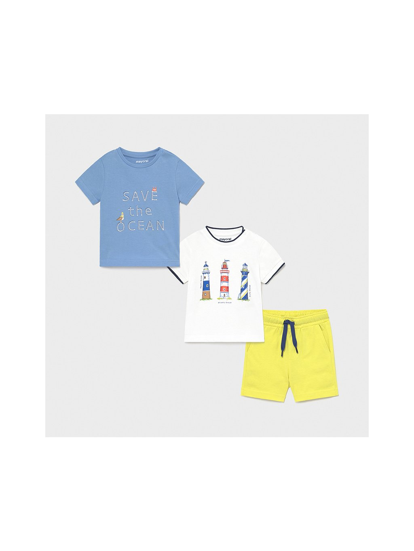 CHLAPKÝ KOMPLET MAYORAL 1670-84, velikost 98, barva bílá, modrá, žlutá, 8445054629777, obr. 20