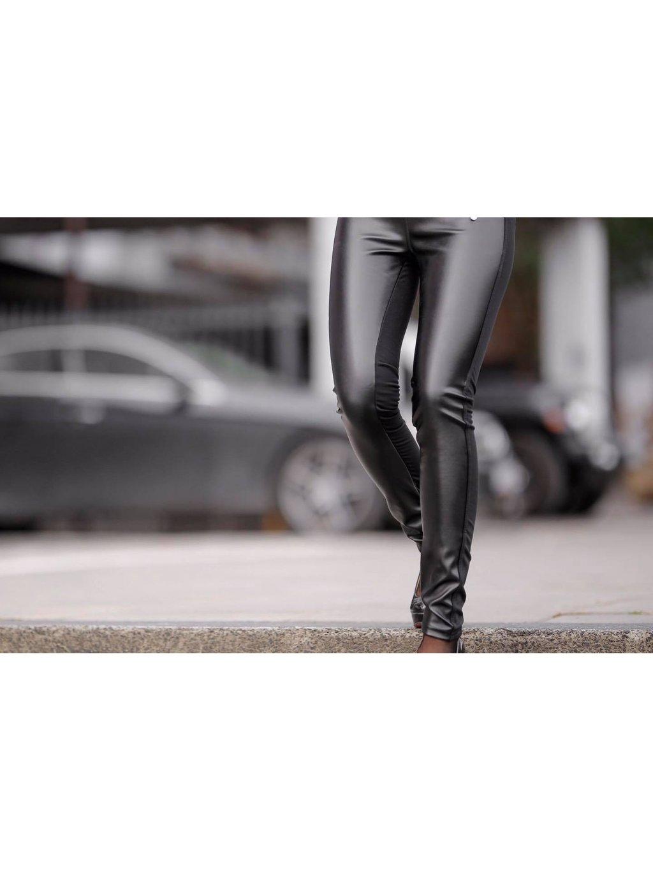 Dámské, koženkové slim kalhoty 11, velikost XS - 34, obr. 20