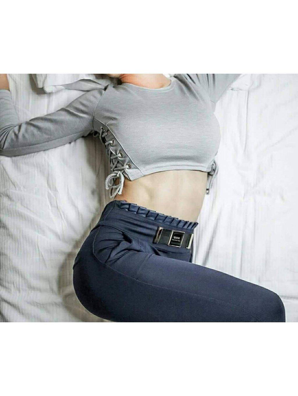 Dámské kalhoty modré, velikost S - 36, obr. 20