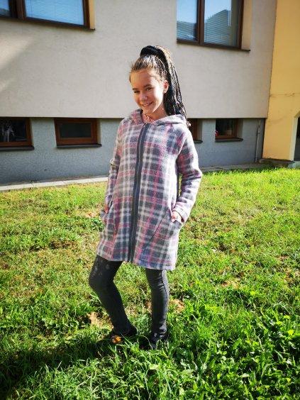 Dívčí přechodový kabát, velikost 158, obr. 20