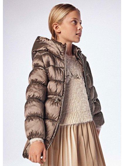 Dívčí dlouhý kabát, bunda  Mayoral 7435