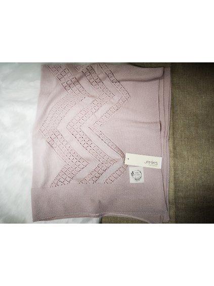 Bambusová deka 005, barva růžová, obr. 20