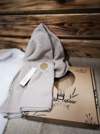 Bambusová deka 006, barva šedá, obr. 20