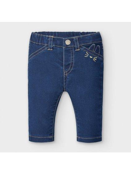 Dívčí kalhoty 2777, velikost 4 - 6 měsíců, 70 cm, barva modrá, obr. 20