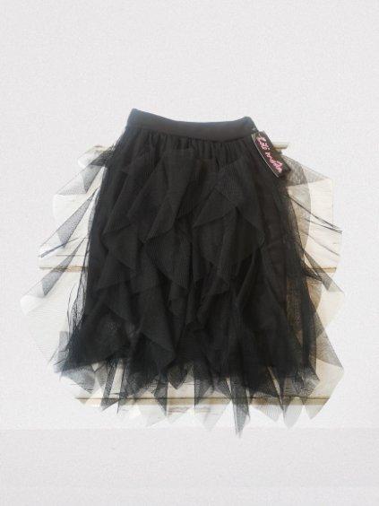 Dívčí sukně 08, velikost 152 (12 let), barva černá, obr. 20