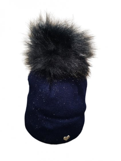 Zimní čepice 119, barva modrá, obr. 20