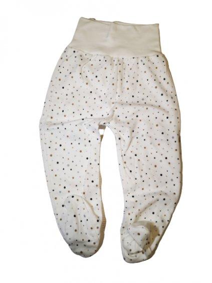 Kojenecké polodupacky 086, velikost 74, barva béžová, bílá, obr. 20