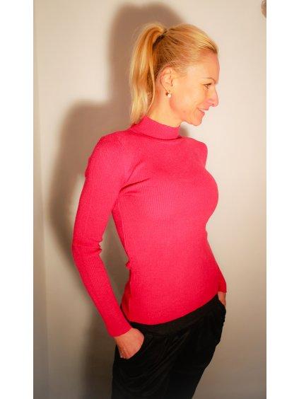 Dámský svetr 029, barva růžová, obr. 20