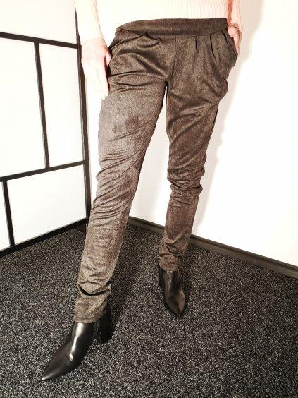Dámské pohodlné kalhoty 123, velikost S - 36, barva šedá, obr. 20