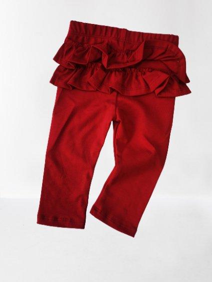 Dívčí legíny 0100, velikost 74, barva červená, obr. 20