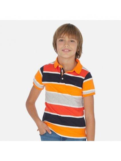CHLAPECKÁ POLOKOŠILE MAYORAL 6137, velikost 172 (18 let), barva šedá, modrá, oranžová, 2006137032189, obr. 20