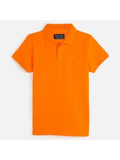 CHLAPECKÁ POLOKOŠILE MAYORAL 890, velikost 166 (16 let), barva oranžová, 2000890050169, obr. 20