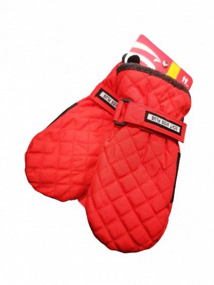 Nepromokavé rukavice 091, velikost 98, barva červená, obr. 20