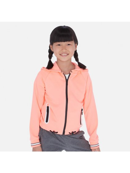 DÍVČÍ MIKINA MAYORAL 6462-23, velikost 157 (14 let), barva oranžová, neon, 2006462023142, obr. 20