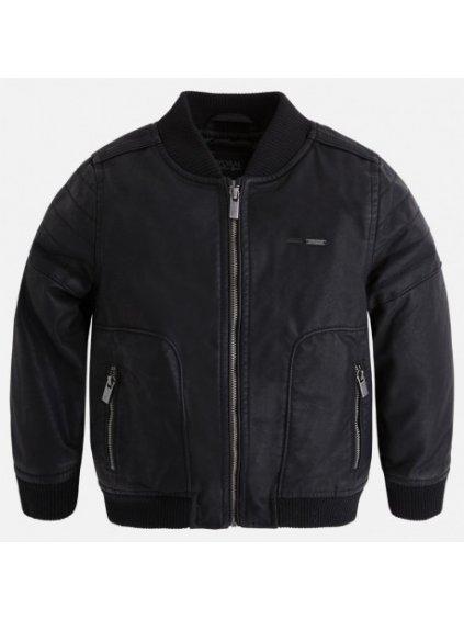 mayoral 4404 10 kurtka sztuczna skora kolor czarny
