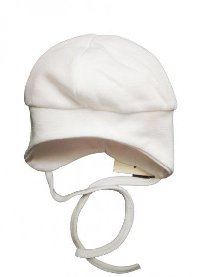 Kojenecká čepice na zavazování