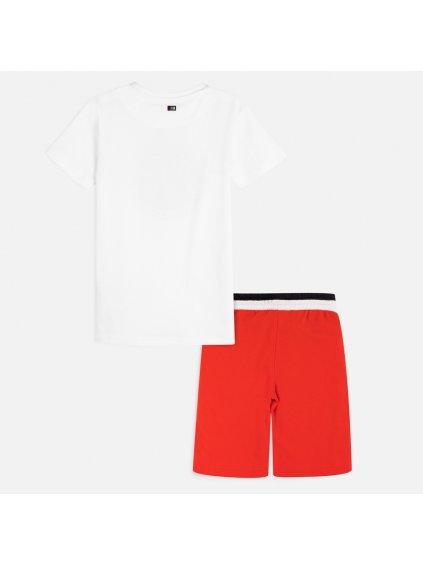 Chlapecký komplet MAYORAL - triko, kraťasy 6616