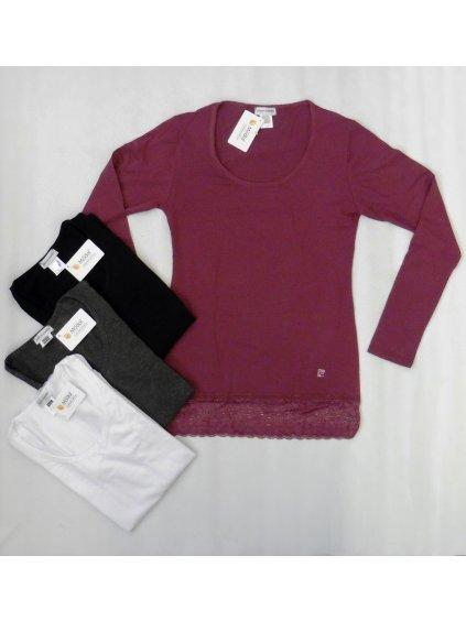 Dámské triko Pierre Cardin bílé, velikost XL - 42, barva bílá, obr. 20