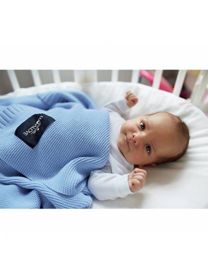 Bambusová dečka Baby Blue modrá