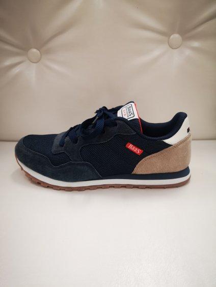 Dámská obuv, pohodlné  tenisky 21989 modré