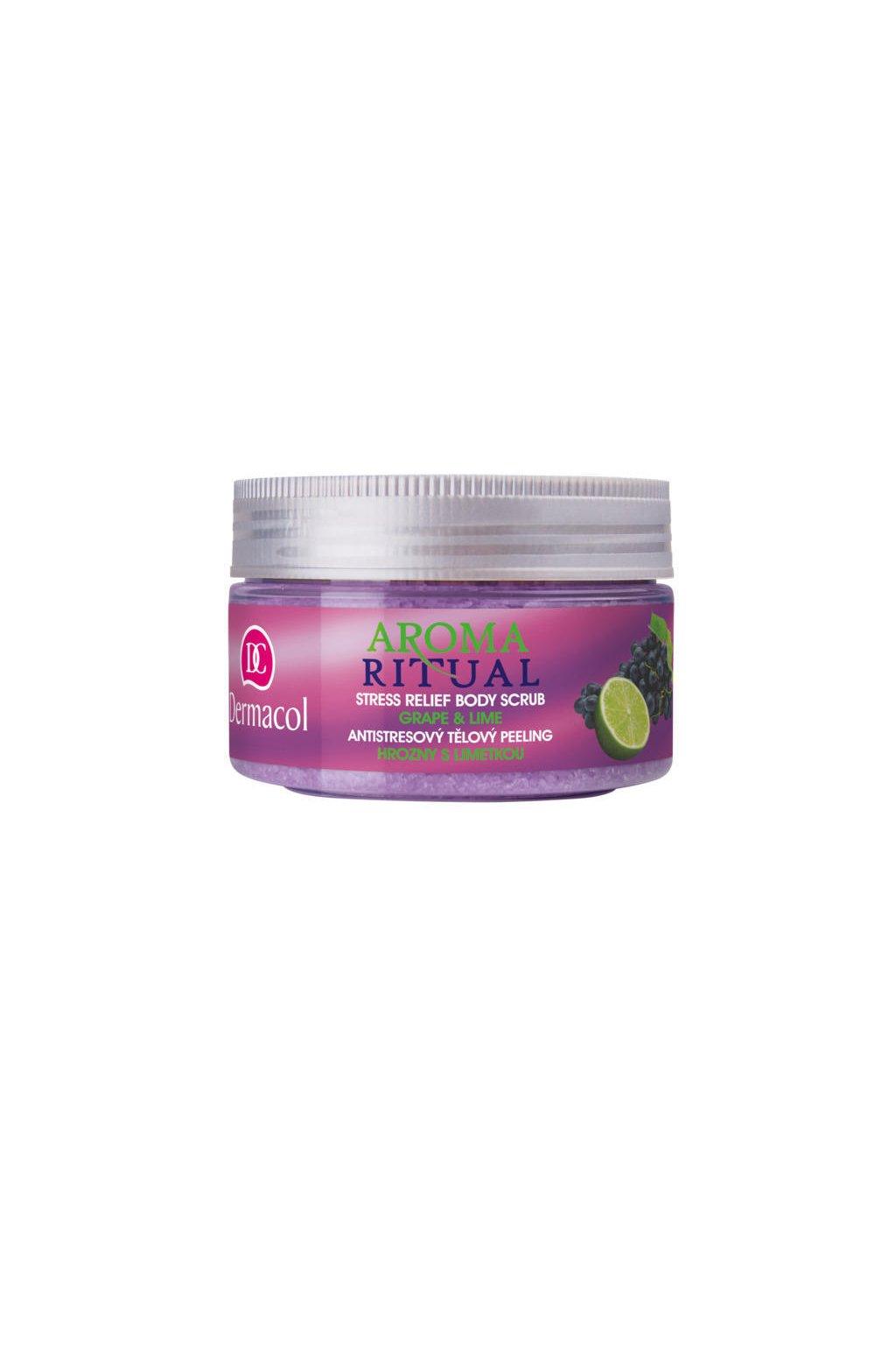 dermacol aroma ritual body scrub grape and lime telovy peeling na telo