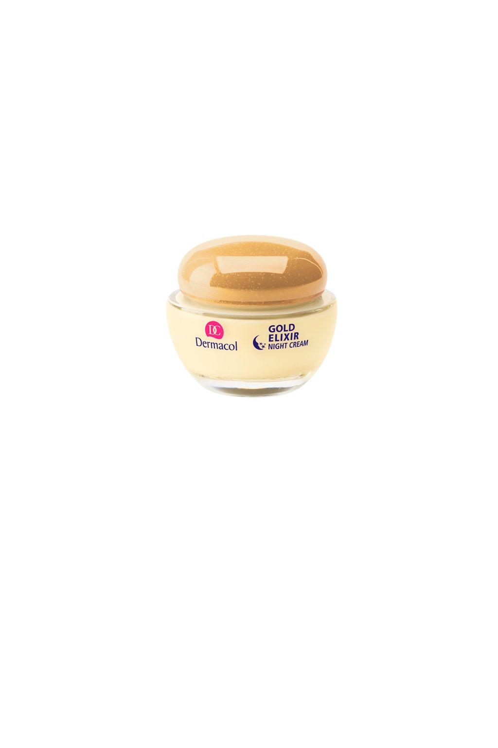 dermacol gold elixir caviar night cream omlazujici kaviarovy nocni krem