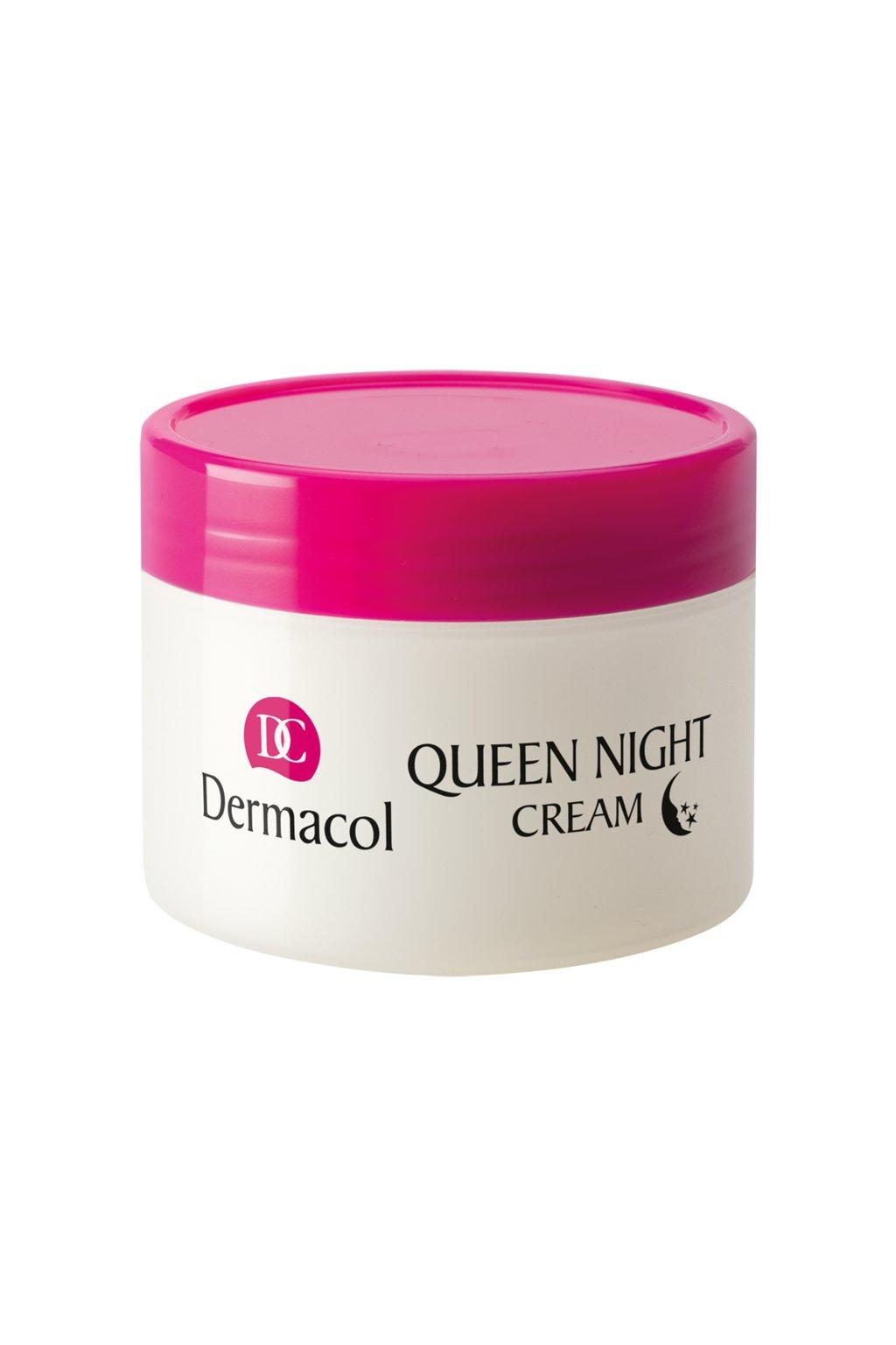 dermacol queen night cream nocni hloubkova pece pro suchou a velmi suchou plet