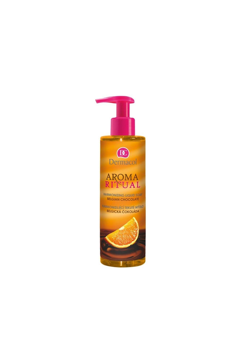 dermacol aroma ritual harmonizujici tekute mydlo s pumpickou 10