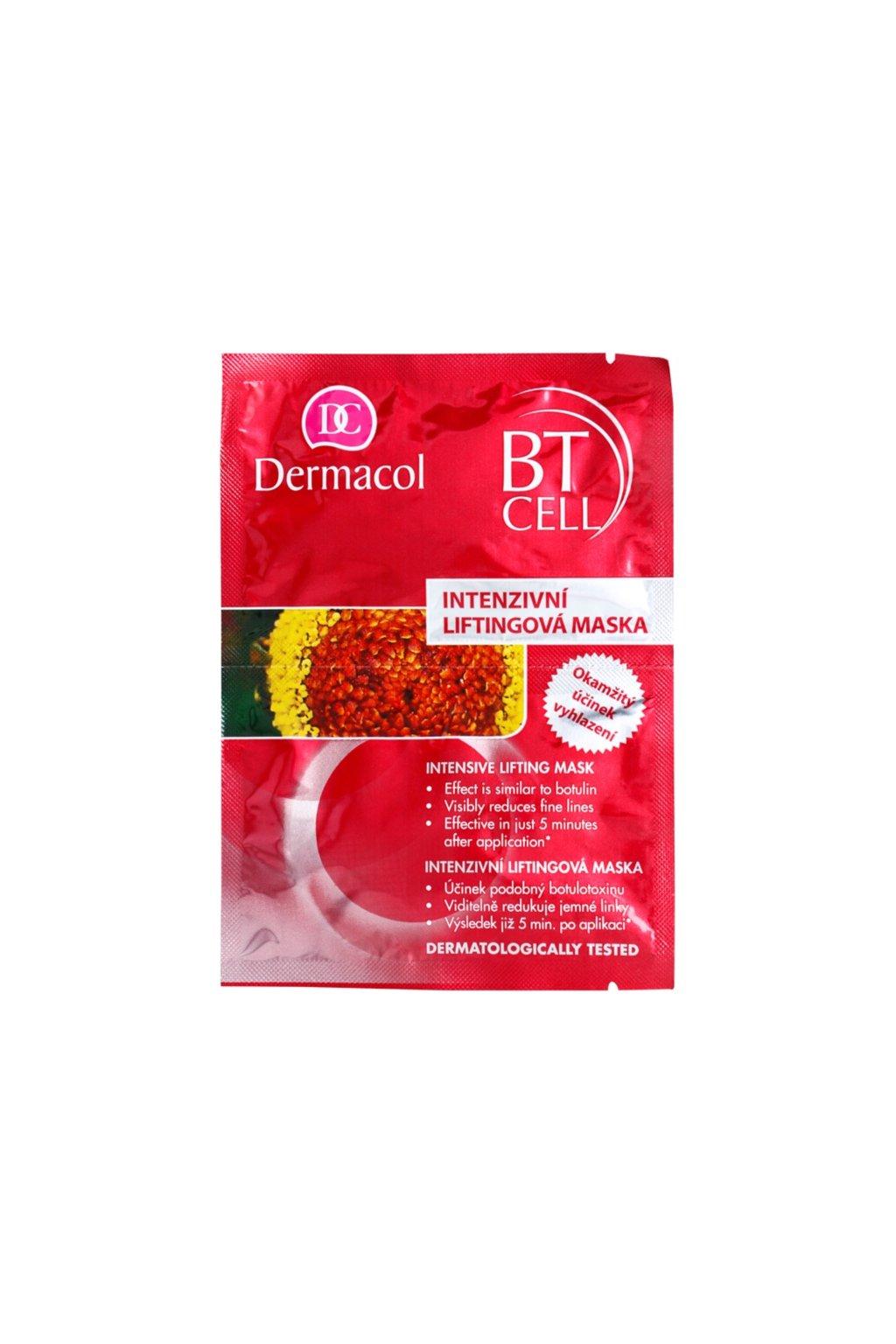 dermacol bt cell intenzivni liftingova maska jednorazova 25