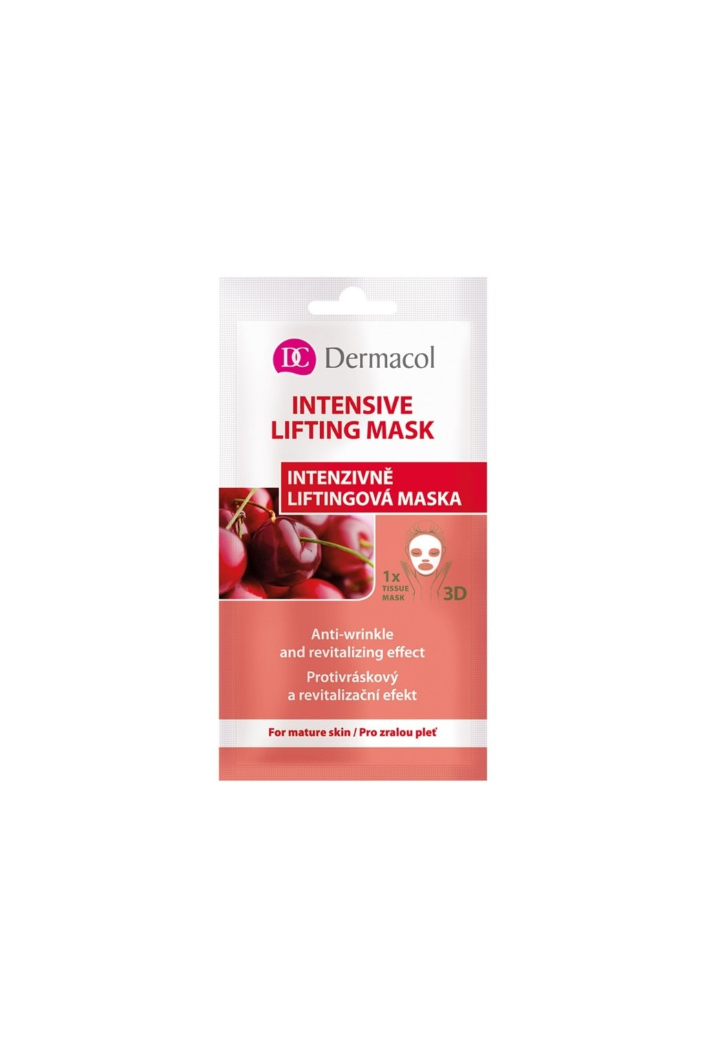 dermacol intensive lifting mask textilni 3d liftingova maska 15